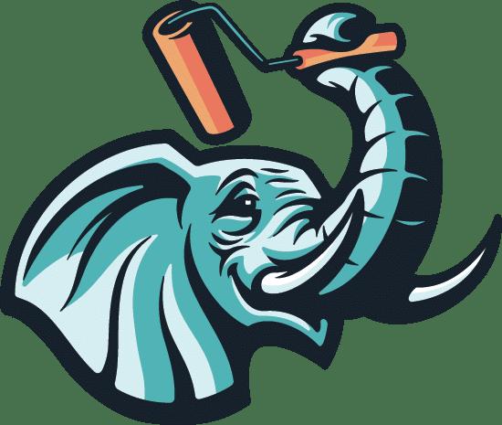 WISE Coatings elephant logo